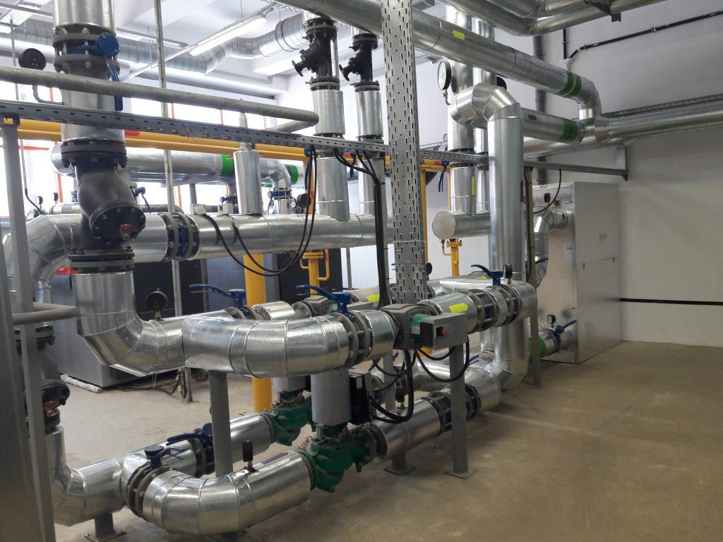 Проектирование газовой котельной в Волжском
